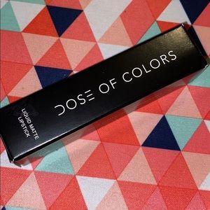 "Dose of colors liquid lipstick in ""date night"""